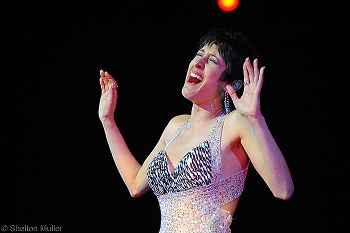 Danielle Matthews Lead role in Shirley Bassey Tribute
